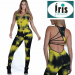 TEXTURE WAVE STRAPPYBACK YELLOW JUMPSUIT