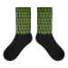 Kenai Camo all-over black foot sock - XL (12-15)