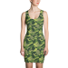 Kenai Camo all-over dress - med / green