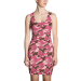 Kenai Camo all-over dress - xs / pink