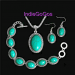Turquoise Vintage Jewelry Set - 3 PC Set! *Verified by Indiegogos. com
