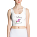 Sublimation Cut & Sew Crop Top-I believe I can FLY - S