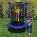 "Trainor Sports 55"" My First Trampoline And Enclosure Combo Blue"