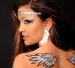 Angelic Wings Xotic Eyes Body Art