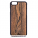 MMORE Wood Ziricote Phone case - Phone Cover - Phone accessories - Samsung Galaxy S6 / Black