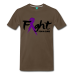 Fight For A Cure - Men's Premium T-Shirt - noble brown / 2XL