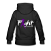 Fight For A Cure - Women's Premium Hoodie || LIVING STRONG PAGE - black / XL