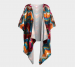 Marley Kimono - Small / Medium / Poly Chiffon / Without fringe
