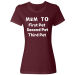 """Mom To"" With Your Own Pet's Names - XL / Maroon"
