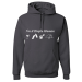 I'm A Simple Woman, I Like Wine, Beaches, Pets and Camping Hoodie - 3XL / Charcoal Grey