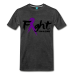 Fight For A Cure - Men's Premium T-Shirt - charcoal gray / 5XL