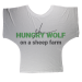 Hungry Wolf Batwing Top - XL