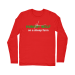Hungry Wolf Long Sleeve T-Shirt - Red / M