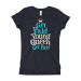 Get Paid Young Queen Get Paid (Blue) Girl's T-Shirt - Purple Rush / XS