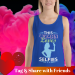SELFIE REVOLUTION COLLECTION 2 Tank Top - True Royal / S
