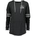 Holloway Ladies Hoodie Low Key Pullover PNW - Vintage Black/Vintage Grey / S