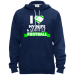 Teeze Designs Pullover Hoodie Fleece Love Wife Seattle Football - Navy / S