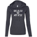 Teeze Designs T-Shirt Hoodie Pullover God Bless This Hot Mess Inspirational Funny - Navy/Dark Grey / 2XL