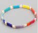 Rainbow and Gold Bracelet