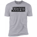 JUSTIFIED Boys' Cotton T-Shirt - Heather Grey / YL