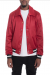 LUXE SATIN BOMBER-RED - XL