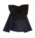 Elizabeth Kennedy Strapless Bow Top