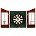 Hathaway Centerpoint Solid Wood Dartboard & Cabinet Set
