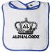 ALPHALORDZ CROWN Baby Bibs - OS / Royal