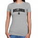 Alabama A&M Bulldogs Ladies Ash Logo Arch T-shirt