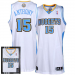 adidas Carmelo Anthony Denver Nuggets Revolution 30 Authentic Limited Edition Boxed Jersey - White