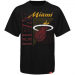 Sportiqe Miami Heat Team Tubbs Premium T-shirt - Black