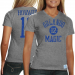 adidas Dwight Howard Orlando Magic Ladies Player Court Tri-Blend T-shirt - Heather Gray