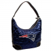 New England Patriots Navy Blue Quilted Hobo Purse