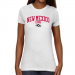 New Mexico Lobos Ladies Team Arch Slim Fit T-Shirt - White