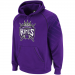 adidas Sacramento Kings Purple Hoops Pullover Hoodie Sweatshirt