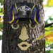 Baltimore Ravens Resin Tree Face Ornament