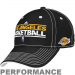 adidas Los Angeles Lakers Black Official Team Practice Performance Flex Hat